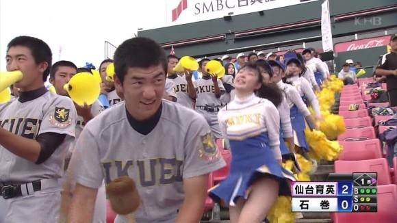 (TV)少女コンが甲子園を見る理由は現役10代小娘チアガールを見るためwwwwwwwwww(えろキャプ写真あり)