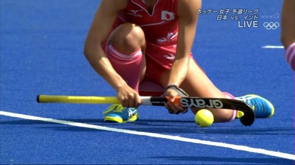 オリンピックで何気えろかった女子ホッケー選手wwwwwwwwww股間・生足太ももがヌけるwwwwwwwwww(えろキャプ写真あり)