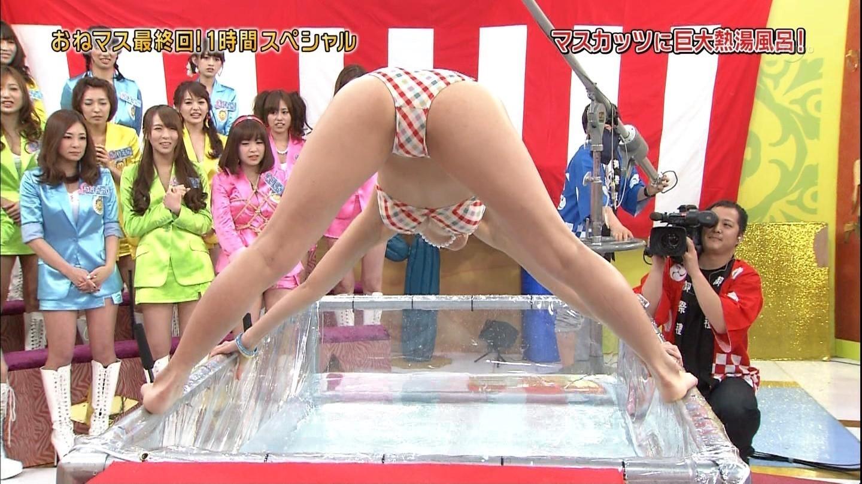(熱湯風呂TVえろキャプ写真)放送事故率100%を誇る熱湯風呂コーナーは見逃し厳禁wwwwwwwwwwww