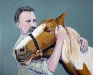 Ницше и лошадь
