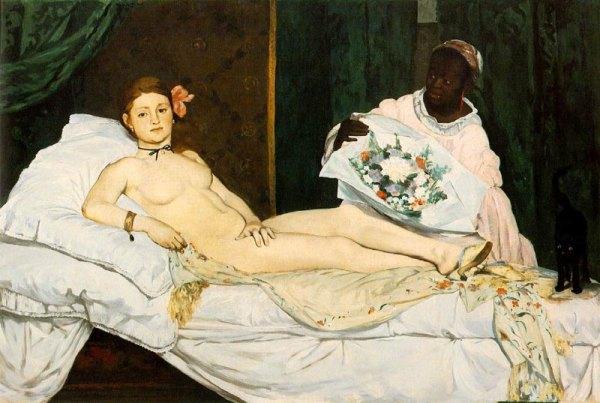 «Олимпия», Эдуард Мане, 1863.