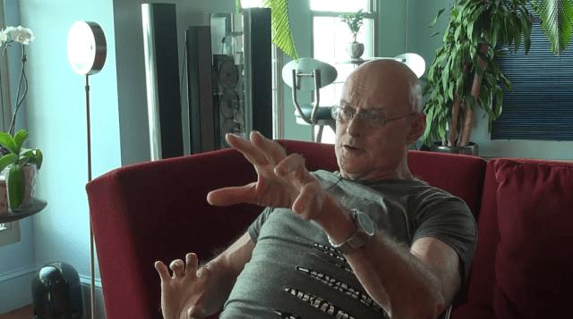 Кен Уилбер. Кадр из видеозаписи интервью с Владимиром Майковым