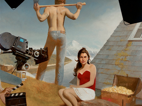 "© Bo Bartlett, ""Land Of Plenty"""