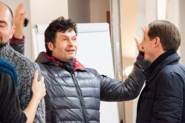 Основатель холосценденции — Сергей Куприянов (психотерапевт, к. мед. н.). (Фото © Татьяна Парфёнова)