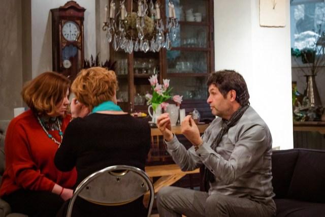 Сергей Куприянов на семинаре по холосценденции