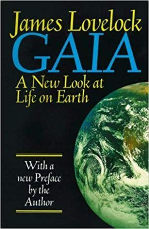 Обложка книги Джеймса Лавлока «Гея: Новый взгляд на жизнь на планете Земля» (Gaia: A New Look at Life on Earth, 1987)
