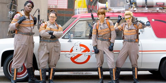 Who's gonna call ? Ghostbusters !