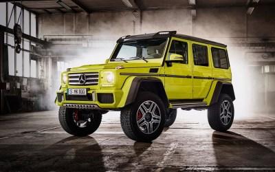 Fondos de pantalla 2015 Mercedes-Benz G500 W463 coche SUV verde 2560x1440 QHD Imagen