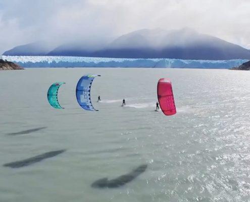 Kite in Patagonia