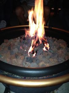 The wonderful firepit