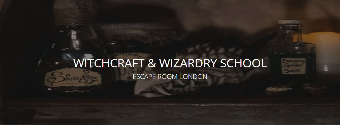 Escape Room Witchcraft Wizardry London