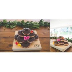 Small Crop Of Donut Wedding Cake