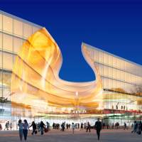 Blog: Overcrowded shopping centre opens next to Eurovision arena