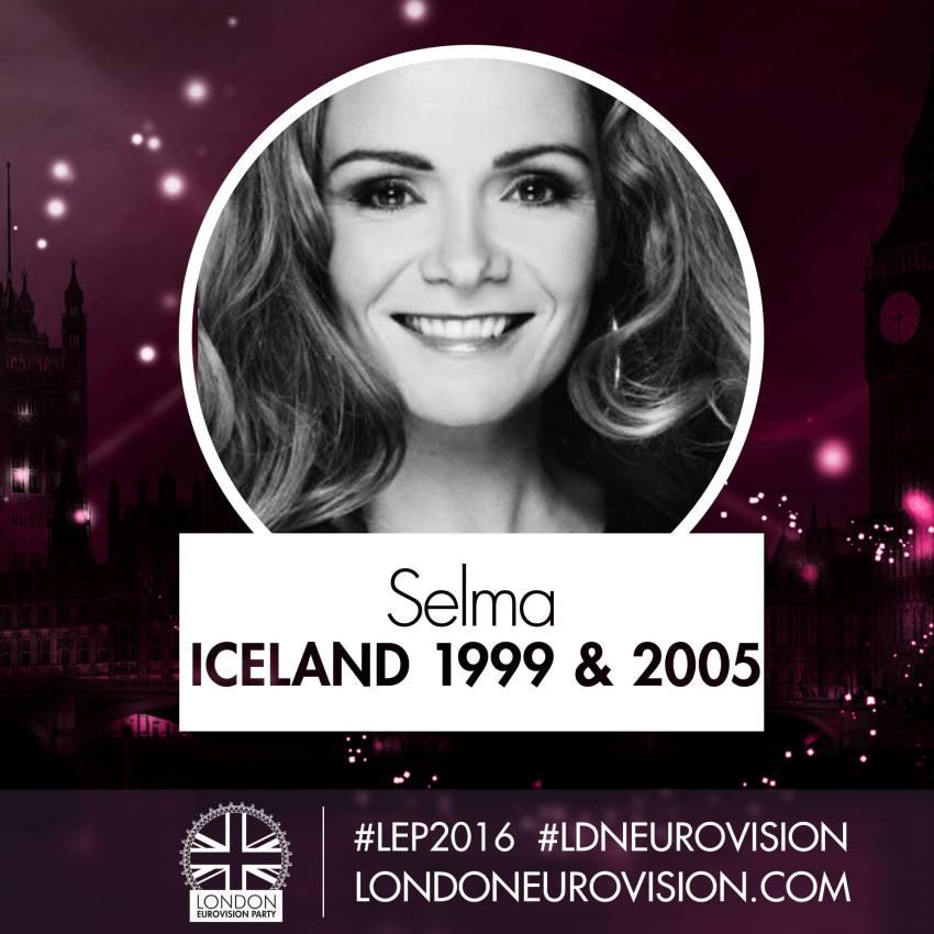 Selma / Iceland 1999 & 2005 - London Eurovision Party