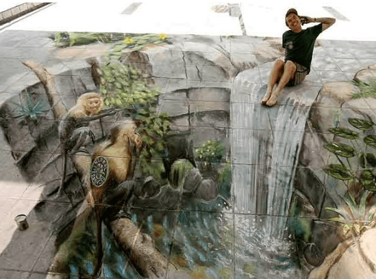 graffitis en 3D.