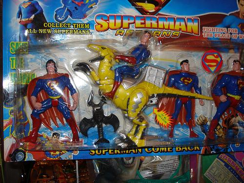 Juguetes chinos Superman