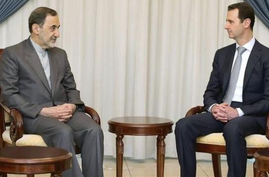 Siria e Irán escenifican su acuerdo en Damasco