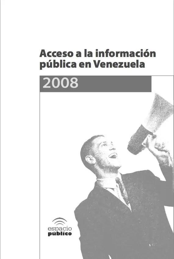 Situación de Acceso a la Información Pública en Venezuela - Año 2008