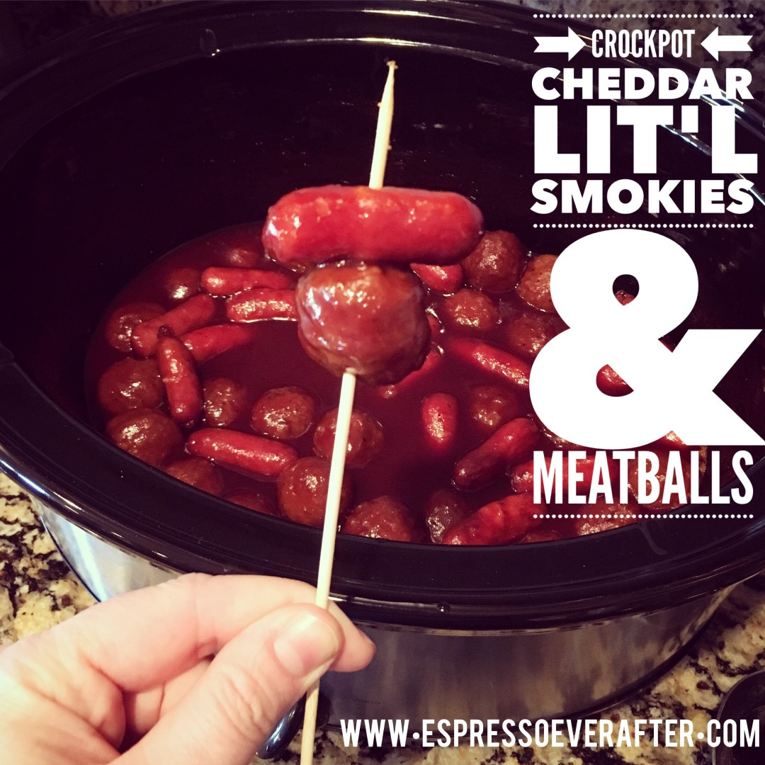 Super Bowl Snack Recipes - Lit'l Smokies & Meatballs