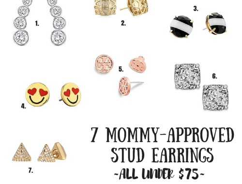 7 Mommy Approved Stud Earrings