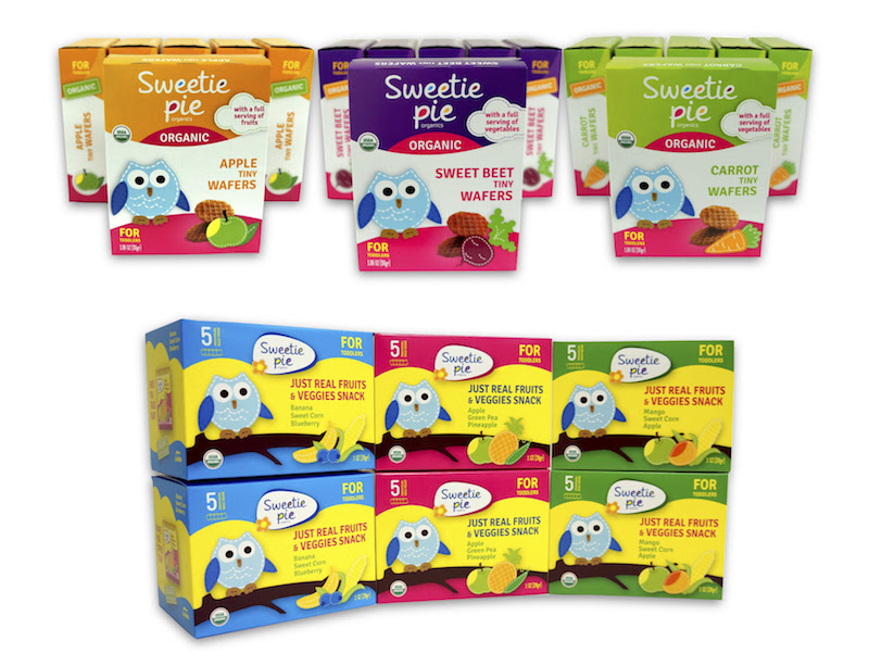 Sweetie Pie Organics - snacks