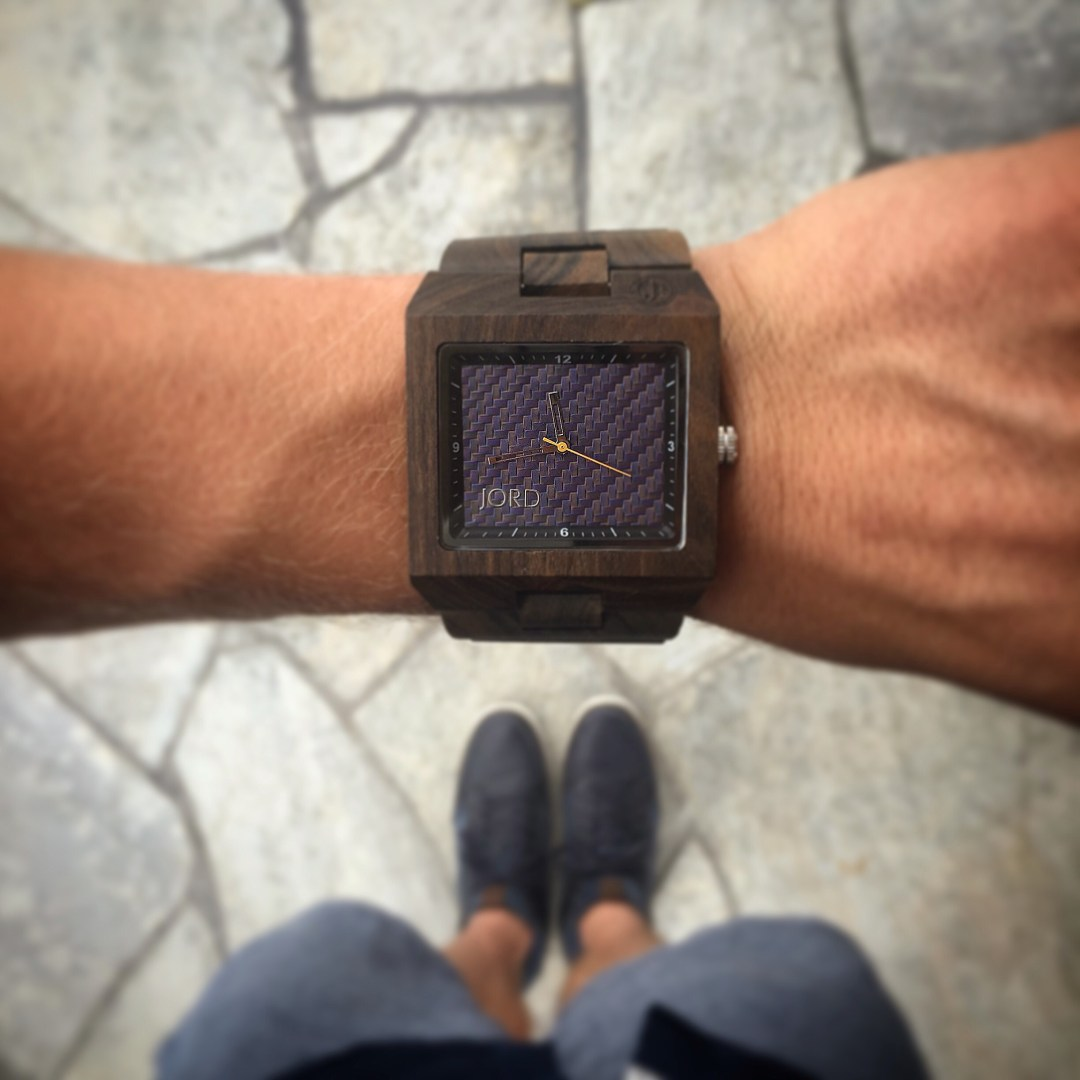 Jord wood watches - time