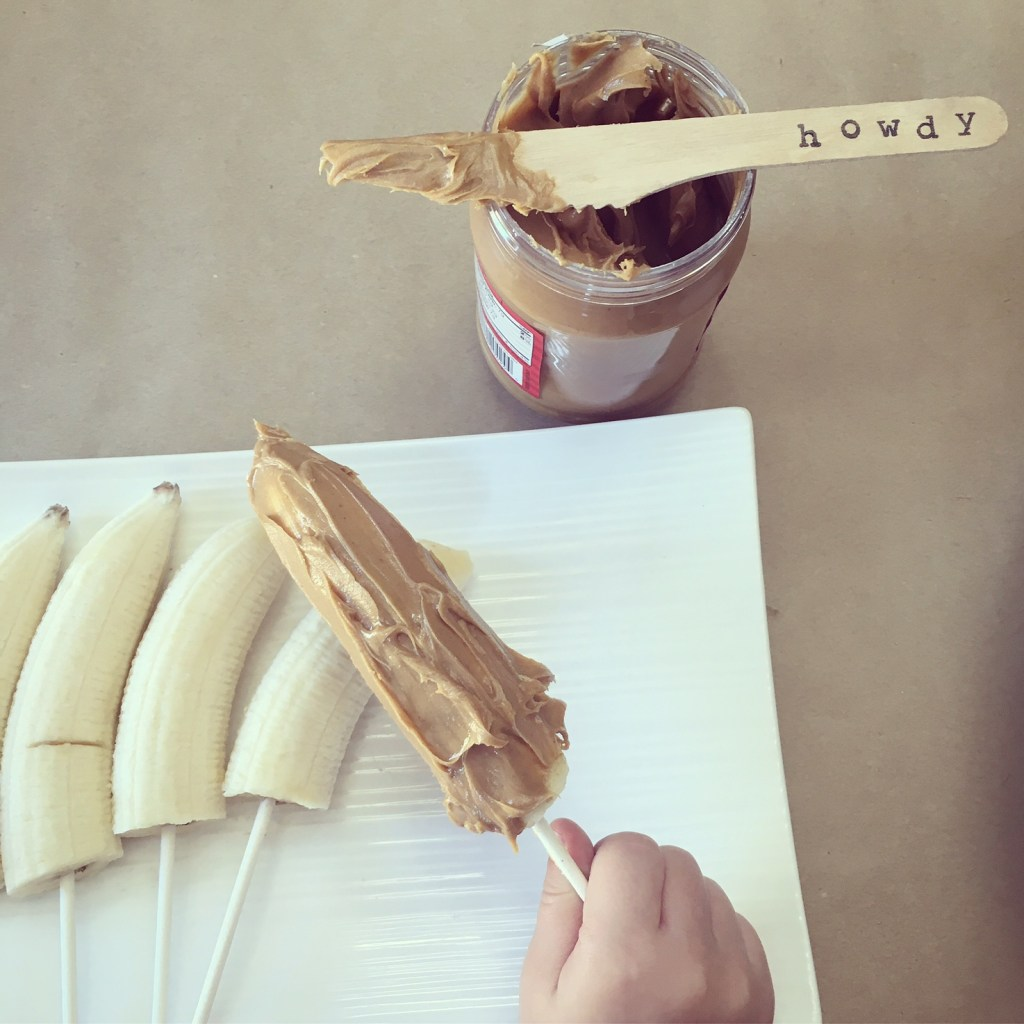 Peanut Butter Banana Dippers - Recipe