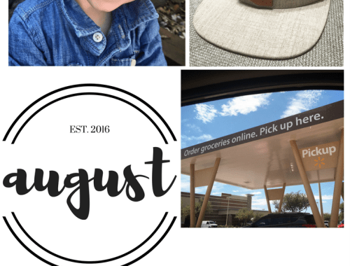 Monthly MUST Haves - August 2016