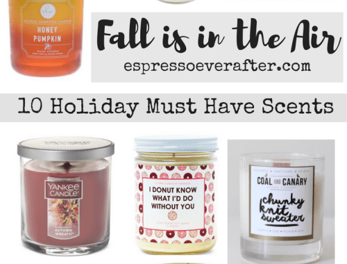 FALL is in the AIR | 10 Holiday MUST HAVE Candles