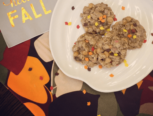 Fall Butterscotch Oatmeal Cookies - Recipe
