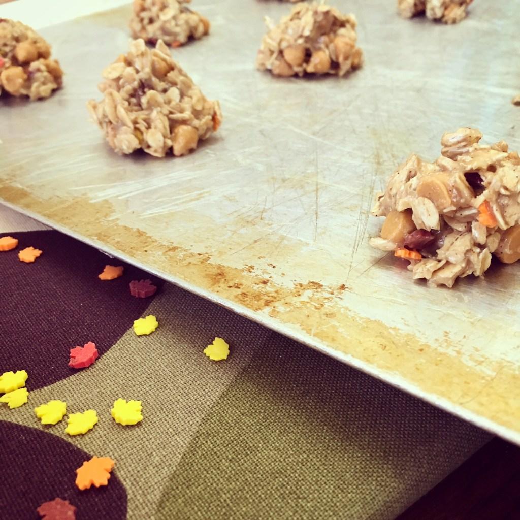 Fall Butterscotch Oatmeal Cookies - Recipe