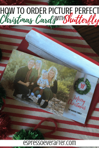 How To Order Picture Perfect Christmas Cards | Featuring Shutterfly