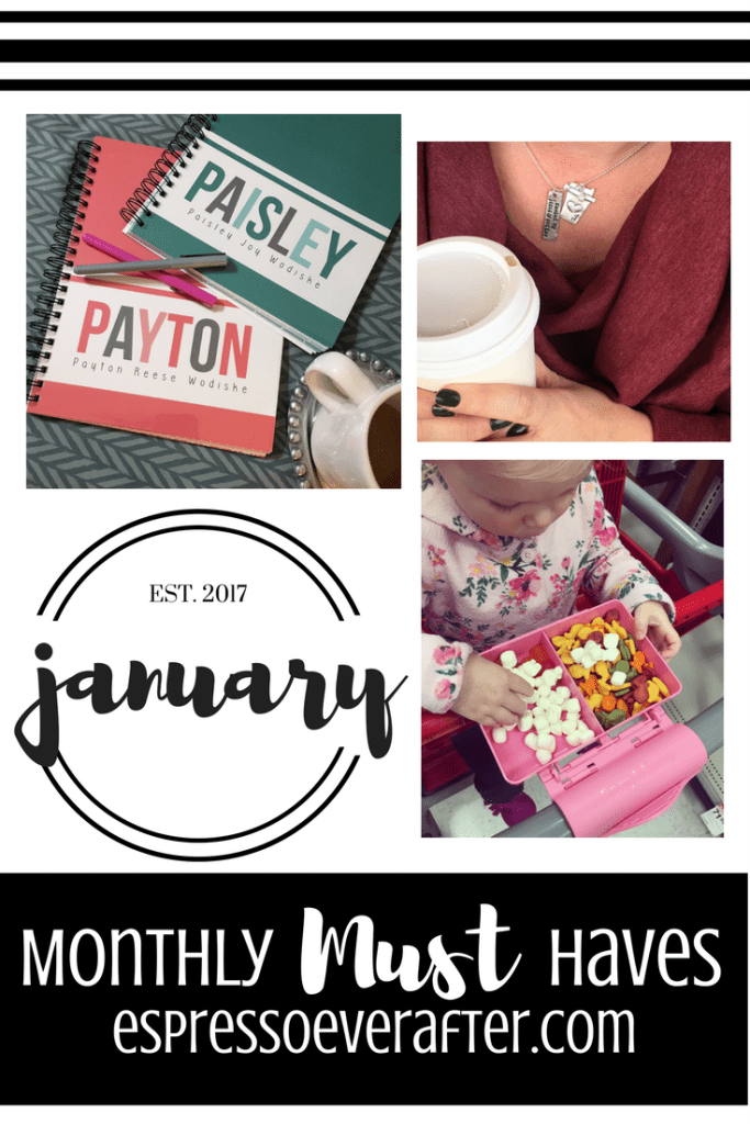 Monthly MUST Haves - January 2017