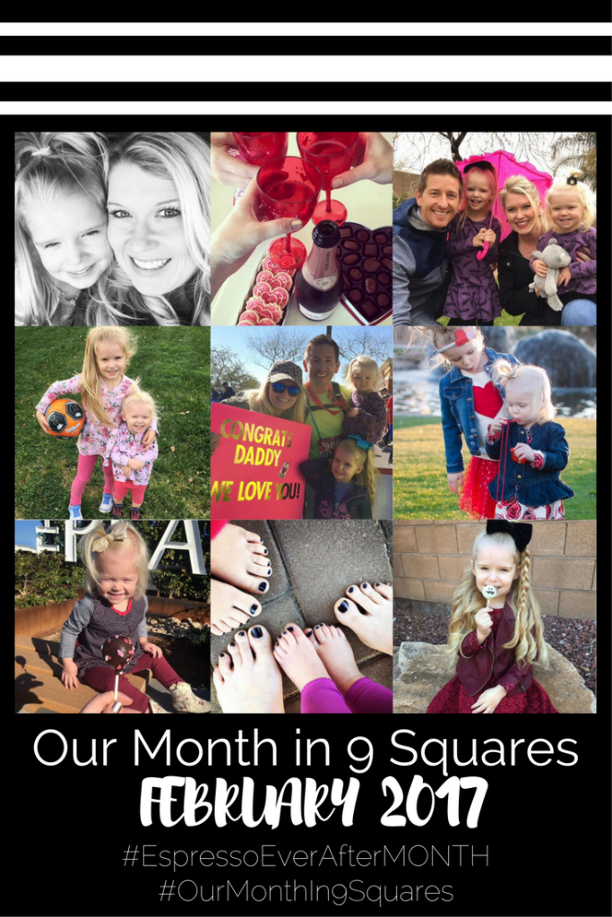Our Month IN 9 Squares - February 2017