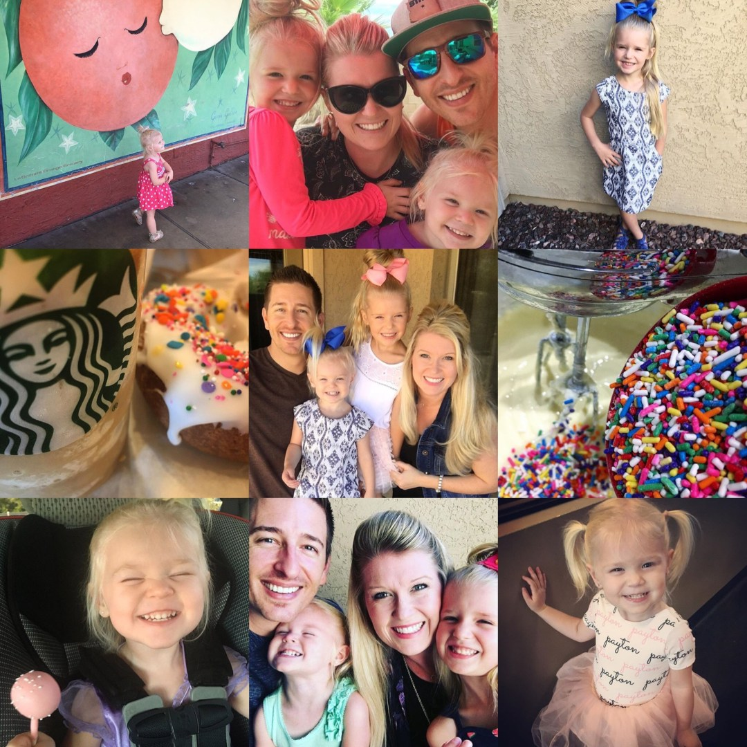 Our Month In 9 Squares is a 9-photo recap of the month, filled with photos and cherished memories. Check out our favorite moments in August 2017!