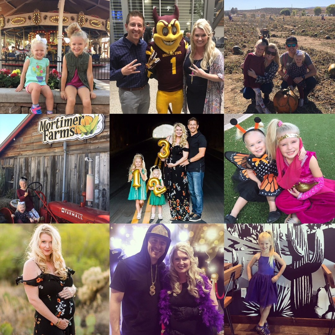 Our Month In 9 Squares is a 9-photo recap of the month, filled with photos and cherished memories. Check out our favorite moments in October 2017!