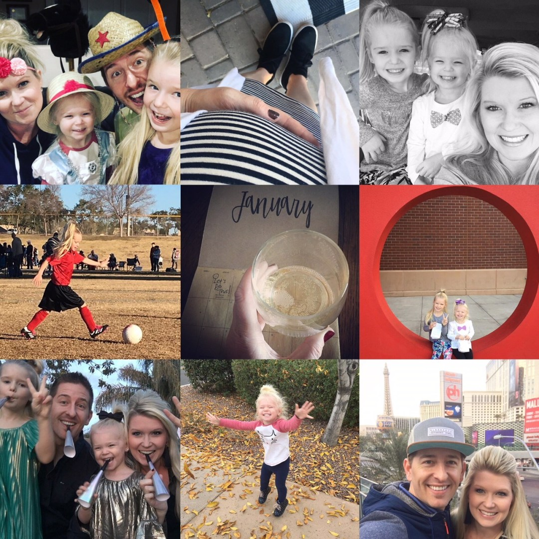 Our Month In 9 Squares is a 9-photo recap of the month, filled with photos and cherished memories. Check out our favorite moments in January 2018!