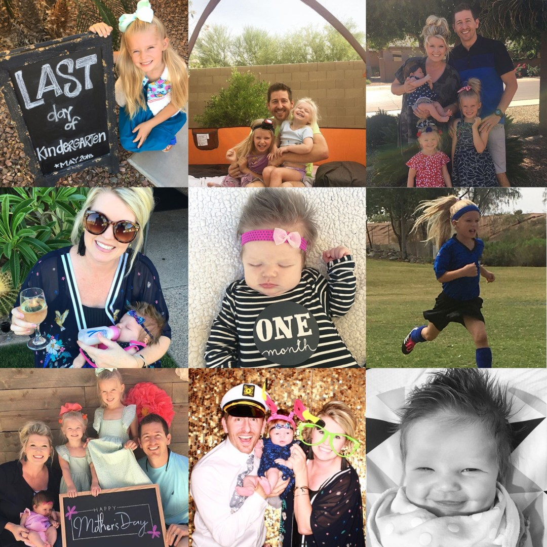 Our Month In 9 Squares is a 9-photo recap of the month, filled with photos and cherished memories. Check out our favorite moments in May 2018!