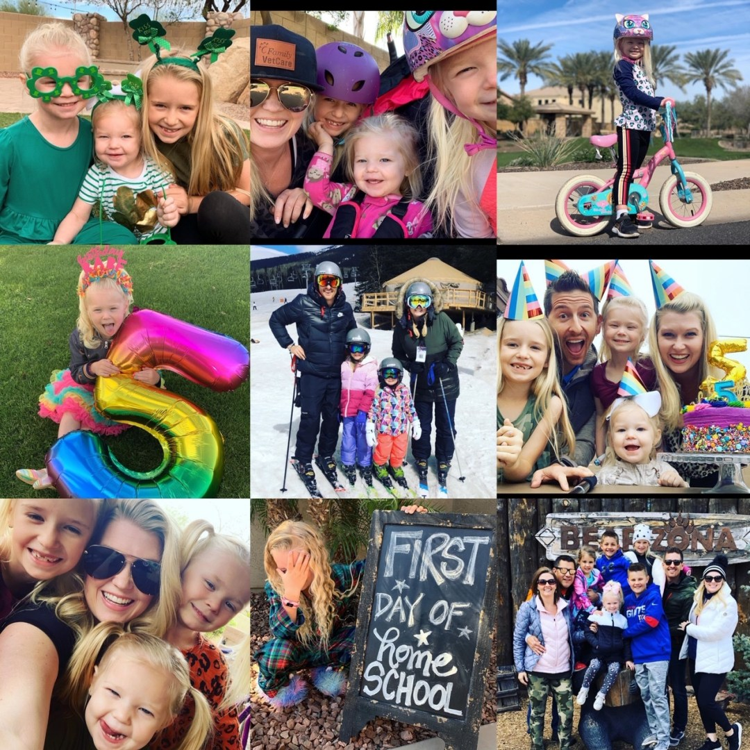 Our Month In 9 Squares is a 9-photo recap of the month, filled with photos and cherished memories. Check out our favorite moments in March 2020.