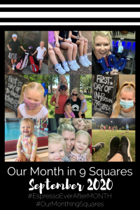 Our Month In 9 Squares is a 9-photo recap of the month, filled with photos and cherished memories. Check out our favorite moments in September 2020.
