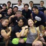 【横浜パワーリフティング・ウエイトリフティング】土曜日はワイワイ練習!