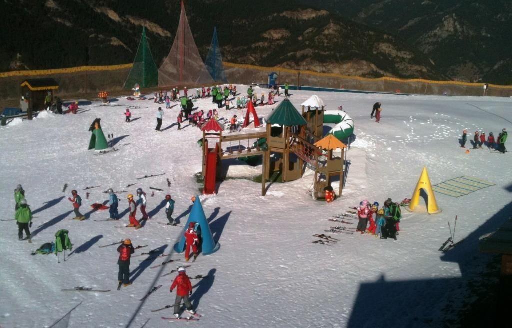 @Vallnord: los mejores jardines de nieve