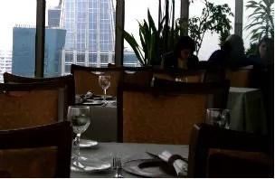 """Um """"regalo"""" para o mochileiro: Restaurante Giratório de Santiago do Chile"""