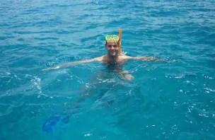 Um mergulho nas águas de Cozumel