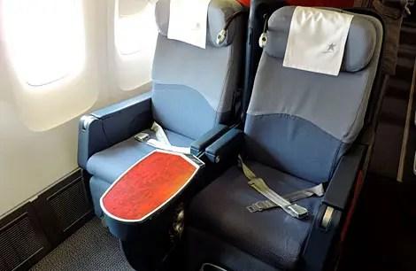 Como é voar na classe executiva da Lan: Premium Business