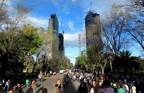 Cidade do México: Conhecendo o Paseo La Reforma e o Bosque Chapultepec