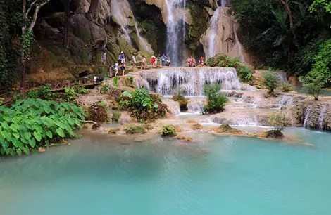 Kwang Si: O azul-turquesa das cachoeiras de Luang Prabang, Laos