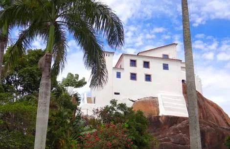 Visita ao Convento da Penha em Vila Velha, Espírito Santo