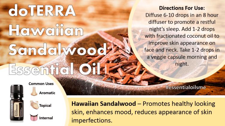 doterra hawaiian sandalwood essential oil