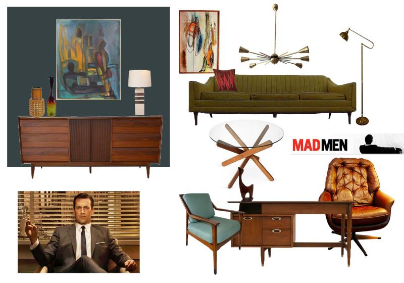 Mad Men Office Furniture. Madmanmoodboard Mad Men Office Furniture